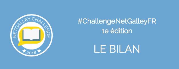 Retour sur la première édition du challenge NetGalley!
