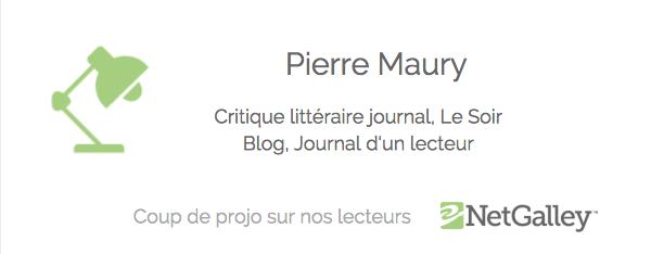 Coup de projo sur nos lecteurs #43 – Pierre Maury, critiquelittéraire