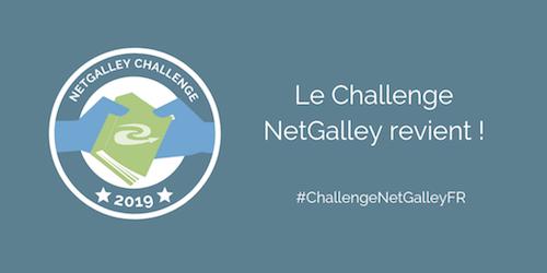 Le Challenge NetGalley revient!