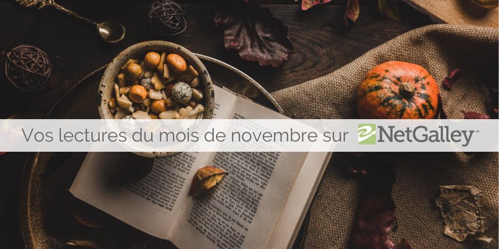 Que lire au mois denovembre?