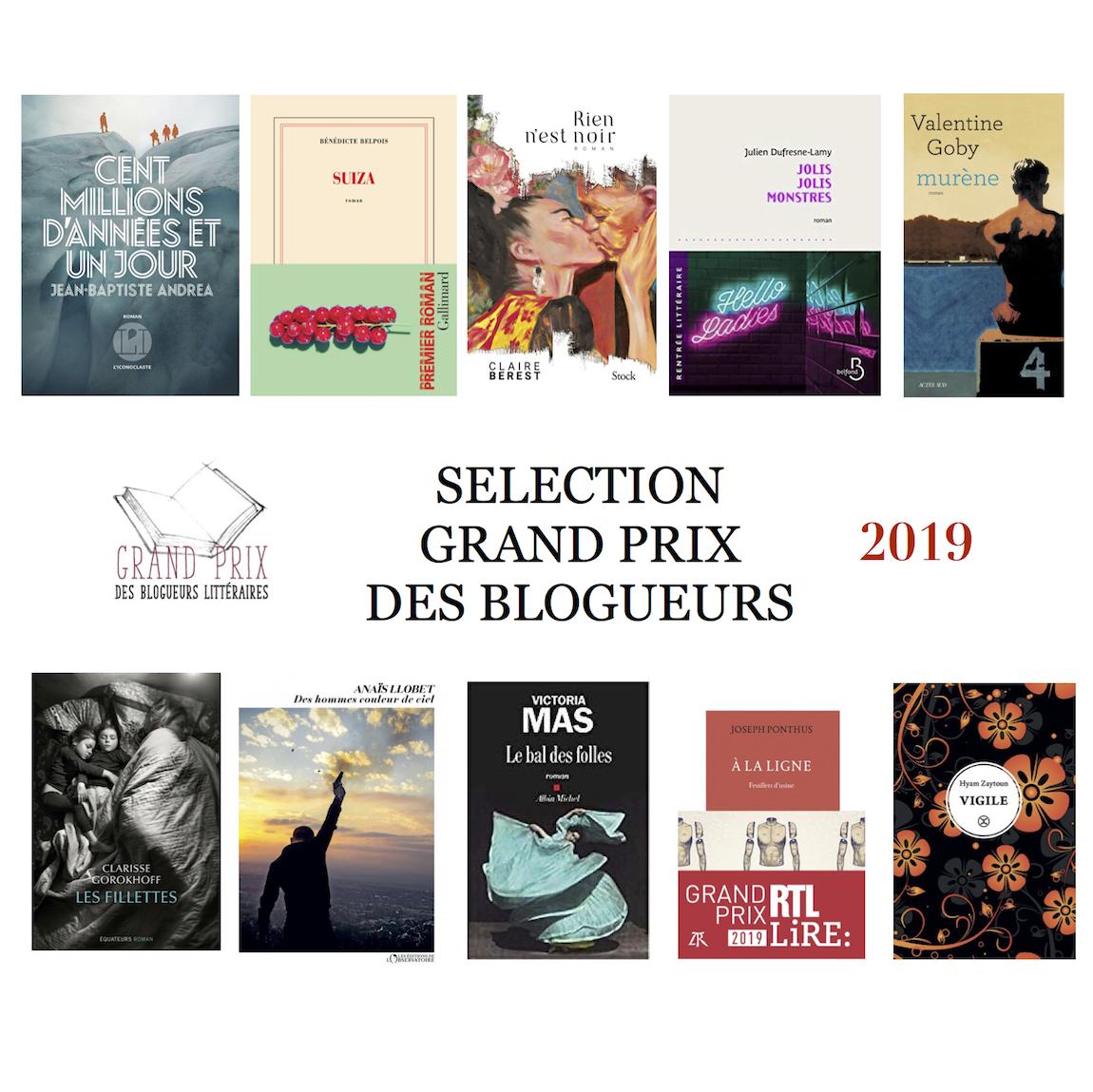 Le Second Tour du Grand Prix des Blogueurs Littéraires 2019!